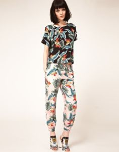 Lulu & Co Maarten Van Der Horst Silk Pyjama Bottoms