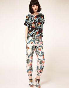 Enlarge Lulu & Co Maarten Van Der Horst Silk Pyjama Bottoms