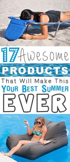 17 Awesome Products That Will Make This Your Best Summer Ever #productivity Productivity Tip #productive