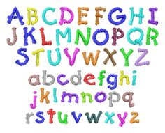 kid font embroidery font - Free Images Kids