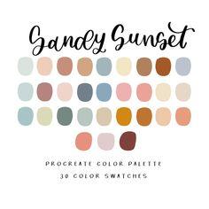 brush and barley wallpaper Beach Color Palettes, Sunset Color Palette, Create Color Palette, Sunset Colors, Colour Pallette, Colour Schemes, Paint Color Palettes, Color Combinations, Website Color Palette