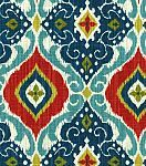 Home Decor Print Fabric- Richloom Studio Jabari Multi curcumin turmeric