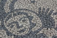 Pavement stones of Lisbon - Portugal