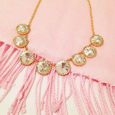 All bundled up and sparkly! Round Crystal Collar $28 sparkleandwhim.com sparkleandwhim's photo on Instagram