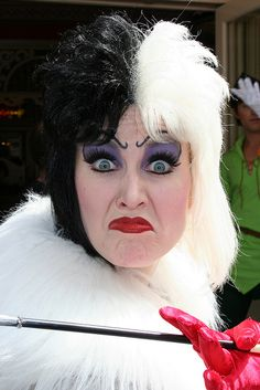 Cruella Deville Makeup | Recent Photos The Commons Getty Collection Galleries World Map App ...