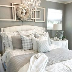 Jardin Toile Duvet - Gray With our Jardin Toile Bedding, you can sleep in a lush garden blooming with one of our favorite motifs. The gray Duvet is hand-finished in dreamy cotton. Cozy Bedroom, Home Decor Bedroom, Modern Bedroom, Bedroom Furniture, Bedroom Ideas, Bedroom Designs, Contemporary Bedroom, Budget Bedroom, Bedroom Red