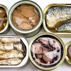Evite atum e sardinha conservados em óleo. Já existe a versão light.