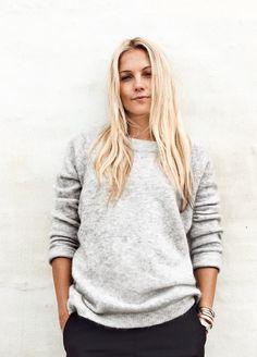 Caroline Fleming. I like her hair.