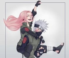 Discovered by Alyssa. Find images and videos about sakura, kakashi and kakasaku on We Heart It - the app to get lost in what you love. Naruto Kakashi, Anime Naruto, Hinata, Sakura And Sasuke, Sakura Haruno, Narusaku, Boruto, Jeff The Killer, Team 7