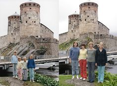 Four Sisters Adorably Recreate Their Childhood Photos - My Modern Metropolis Hmmmm.which old photo(s) could we duplicate? Then And Now Pictures, Pictures Of People, Ac Dc, Four Sisters, Childhood Photos, Childhood Memories, Modern Metropolis, Photography Photos, Family Photographer