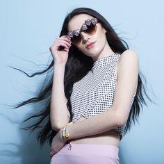 Pink Whisper Coco Sunglasses