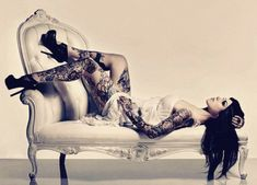 I Love Everything about Kat Von D... she is smart and a Buisness woman and she is very very Unique
