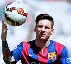 Lionel Messi : Ontem o Barça venceu o Córdoba por 8 x 0,  Leo marcou 2.   Bj   yolepink