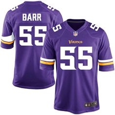 Anthony Barr Minnesota Vikings Youth Nike Team Color Game Jersey - Purple - $74.99