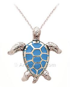 1000 images about turtle jewelry on pinterest turtles turtle silver sea turtle pendant with rich enamel made in the usa 6995 aloadofball Image collections