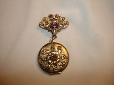 Vintage 1940's Photo Picture LOCKET by PastPossessionsOnly on Etsy