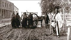 About 6,000 French-speaking M�tis lived in the Red River Settlement in the late 1860s. (Courtesy of the Provincial Archives of Manitoba)