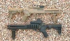 Short Barreled Remington 870.