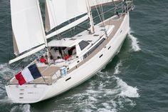 SPOTLIGHT ON: Amel 64 - A 20m luxury bluewater cruising yacht, designed by Berret-Racoupeau Yacht Design, built in #France.  Read more: www.yachtemoceans.com/amel-64-sailing-yacht/  #sailingyacht #yacht #sailing #zeilen #segeln #zeiljacht #segelyacht #amel64