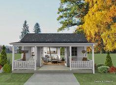 Den Vita Drömgården: Ännu ett 25 kvadratmeters hus