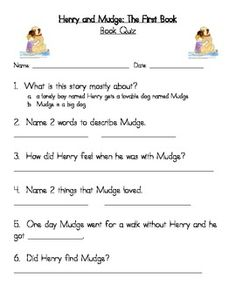 1000+ images about henry and mudge on Pinterest | 2nd Grades ...