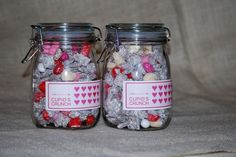 Cupid's Crunch Mix + Printable