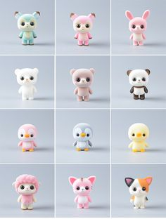 Discover recipes, home ideas, style inspiration and other ideas to try. Polymer Clay Disney, Polymer Clay Kawaii, Polymer Clay Animals, Polymer Clay Charms, Polymer Clay Sculptures, Sculpture Clay, Cute Crafts, Kawaii Crafts, Clay Crafts For Kids
