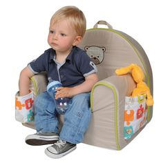 Add This Comfy, Fun And Practical Toddler Sized Chair To Any Room To Create