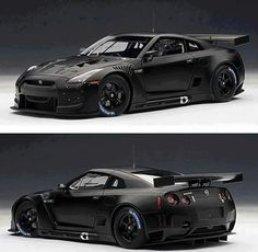 Nissan GTR Looks mean and aggressive. I'll take two.