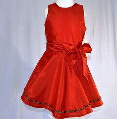 Beautiful Red Dress from www.oldtownekids.com