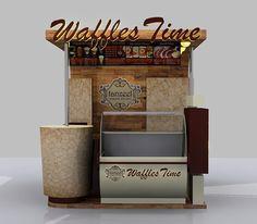 waffles selling kiosk