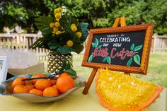 Citrus Baby Shower T