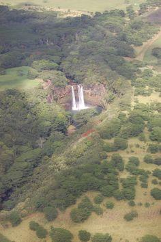Wailua Falls, Kauai  (Blue Hawaiian Helicopter Tours)