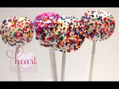 wondrous How to Make Cake Pops - I Heart Recipes