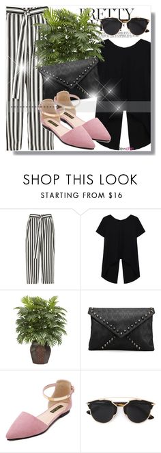 """Newchic Anniversary SALE !"" by dianagrigoryan on Polyvore featuring River Island, Nearly Natural and Christian Dior"