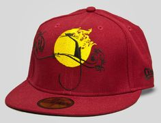 UPPER PLAYGROUND x NEW ERA「Cat Moonlight」59Fifty Fitted Baseball Cap