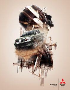 Mitsubishi: Construction   Ads of the World™