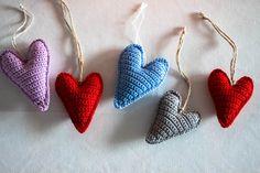 virkattuja sydämiä Nature Photography, Xmas, Drop Earrings, Knitting, Crochet, Winter, Handmade, Jewelry, Winter Time