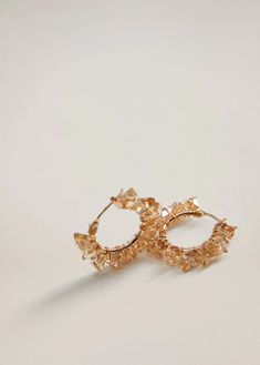 Discover the latest in women's costume jewellery at MANGO. Choose from necklaces, earrings, rings and bracelets. Crystal Earrings, Women's Earrings, Costume Jewelry, Gold Rings, Mango, Women Jewelry, Lily, Rose Gold, Metal