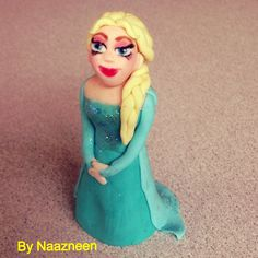 Elsa frost cake topper by Naazneen