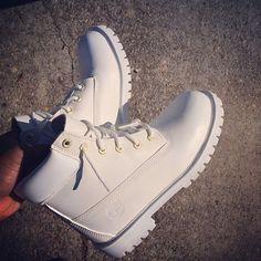 White timberland boots all white timberland white shoes timberland