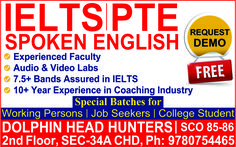 Dolphin Head Hunters has been ranked best by the experts in various verticals like IELTS and Spoken English, Recruitment solutions, Industrial training, Visa assistance and Web services since 2009. http://www.dolphinheadhunter.com/