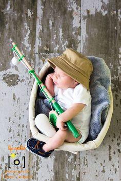 Gone Fishing newborn boy Life Unedited Photography