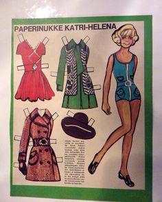 Paperdoll Katri-Helena 1968