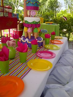 Kids Tables, Amazing Parties of PR