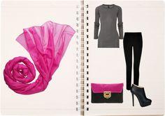 """""""popping pink""""...los detalles rosas también cuentan... solicita una aseoría por... http://www.imagen-vipp.com/"""