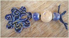 "Conjunto de cerámica "" Cielo nocturno "" de MAJOYOAL por DaWanda.com"
