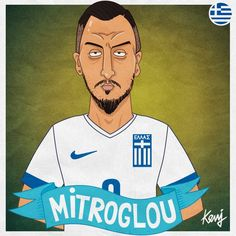 Football Players, Baseball Cards, Cartoon, Display Cases, Artwork, Caricatures, Fictional Characters, Greece, Collections