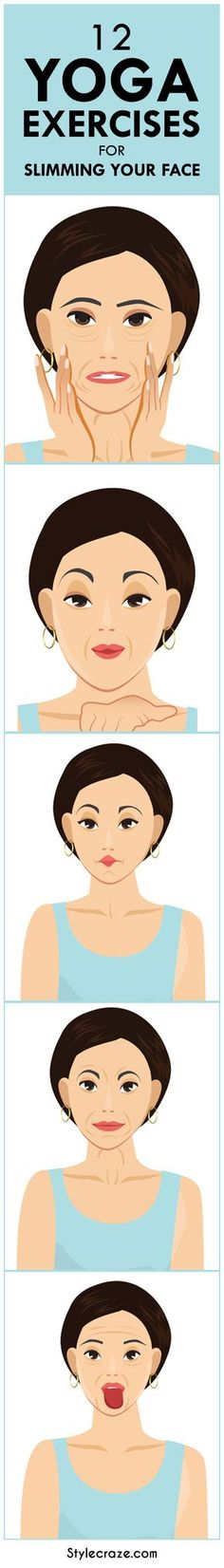 yoga-exercises-for-slimming-your-face/