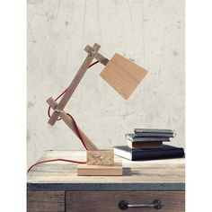 Erwin Table Lamp perfect for finishing off the Industrial office look.